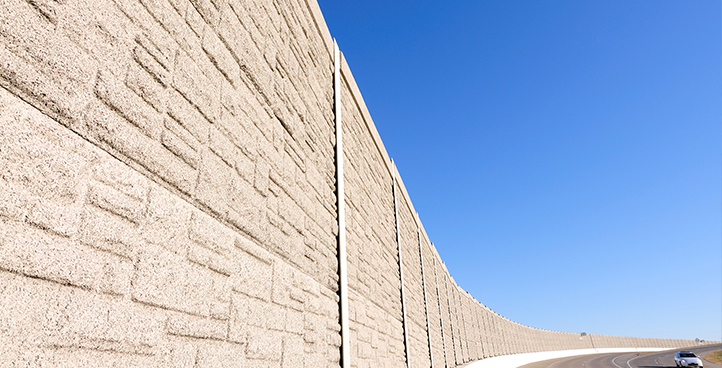 CONCRETE BARRIER AND WALLS